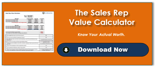 Sales Rep Value Calculator