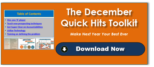 December Quick Hits Toolkit