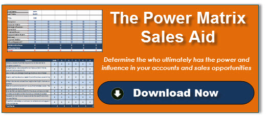 Power Matrix Sales Aid