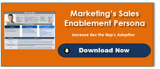 Marketing's Sales Enablement Persona