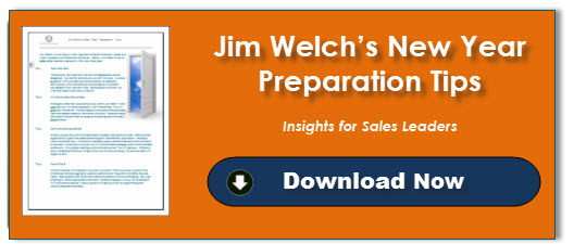 Jim Welch's New Year Preparation Tips