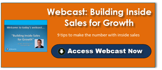 Building Inside Sales for Growth