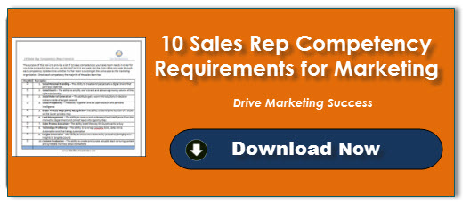10 Sales Rep Competency Requirements for Marketing