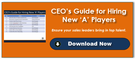 CEO's Guide for Hiring New 'A' Players