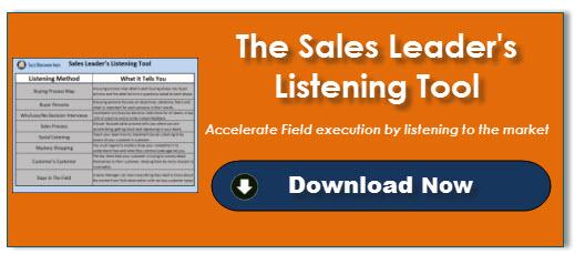 Sales Leaderu0026#39u003Bs Listening Tool