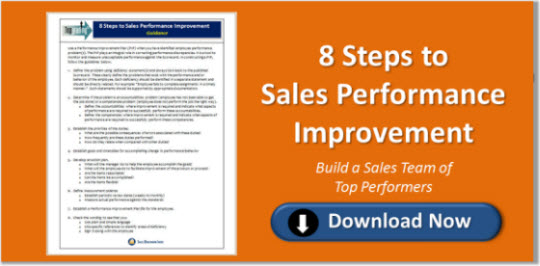 8 Steps to Sales Process Improvement Guide