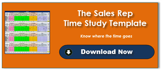 Sales Rep Time Study Template