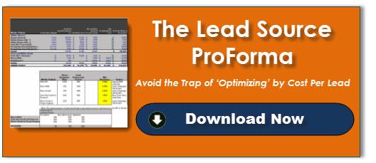 Lead Source ProForma