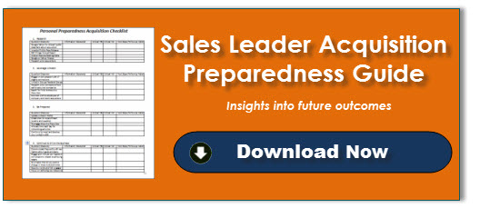 Sales Leader Acquisition Preparedness Guide