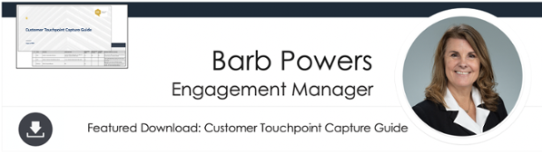 Download the Customer Touchpoint Capture Guide Here