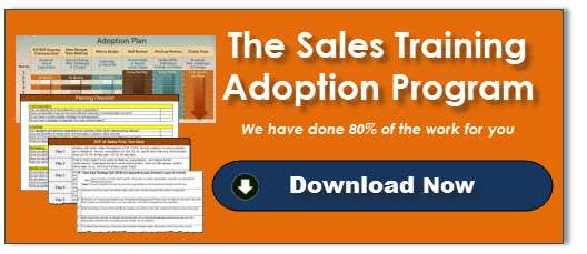 Sales Training Adoption Program