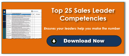 Top 25 Sales Leader Competencies