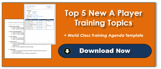 5 New A Player Training Topics + Training Template