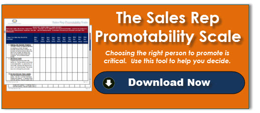 Sales Rep Promotability Scale