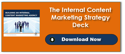 Internal Content Marketing Strategy Deck