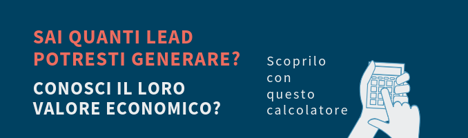 calcolatore lead generation
