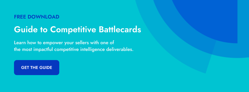 guide to competitive battlecards crayon