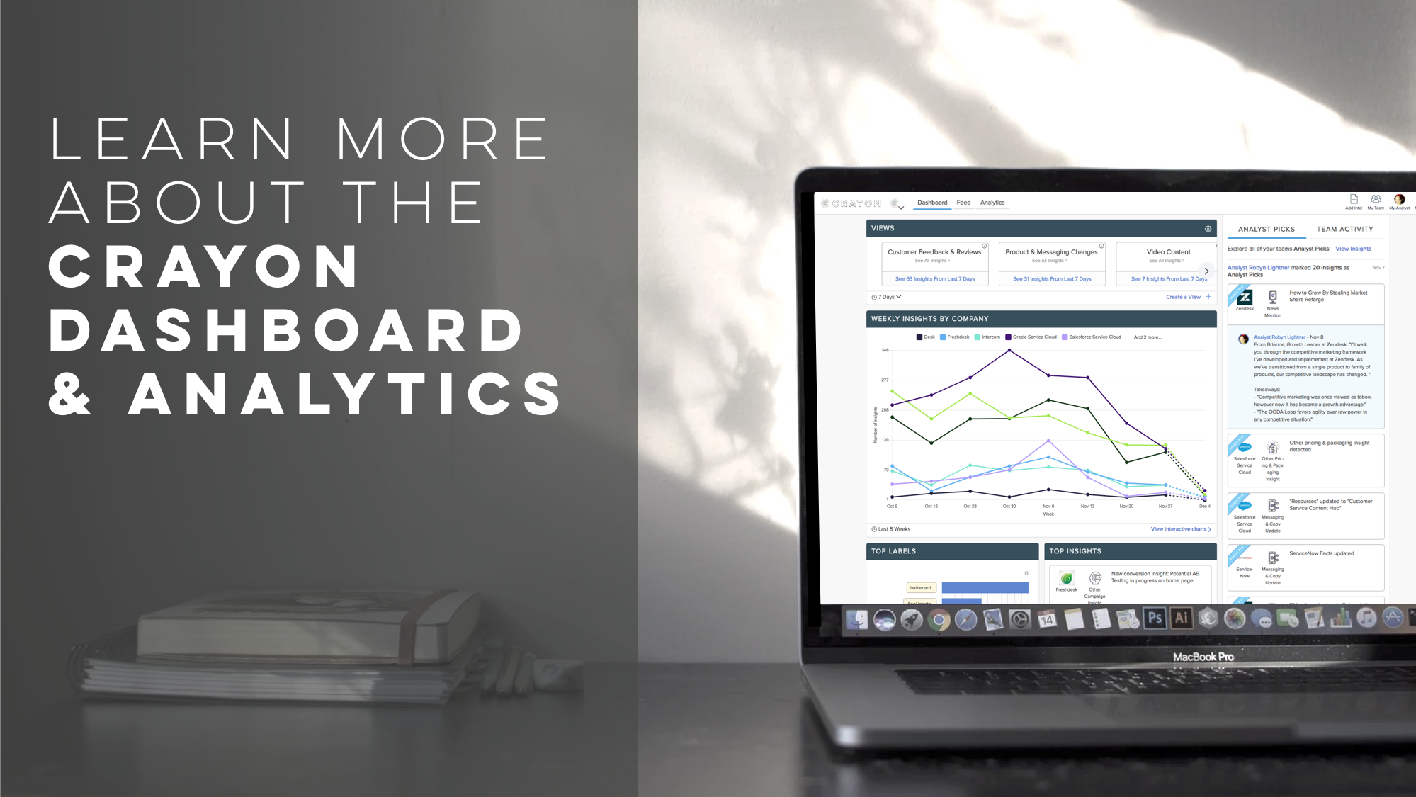Learn More about Crayon Dashboard Analytics
