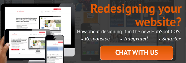 Redesigning your website? Chat with us
