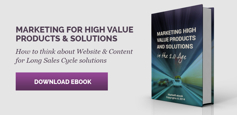 Marketing - high value Products and Solutions ebook