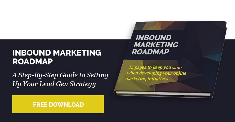 Inbound Marketing Roadmap ebook