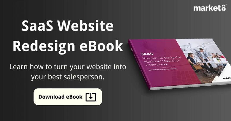 Saas website redesign ebook