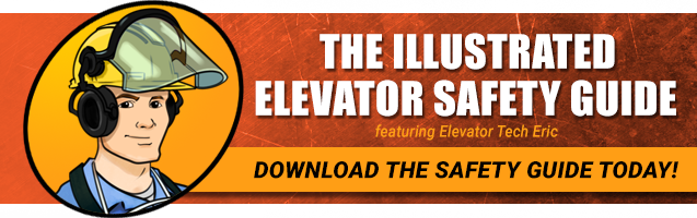 Click to download The Illustrated Elevator Safety Guide!