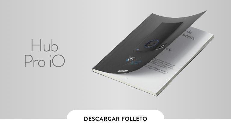 Folleto Hub Pro iO