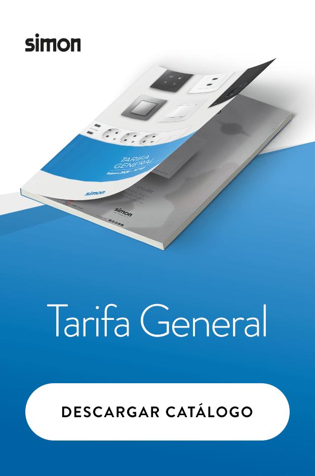 Catálogo tarifa general Simon