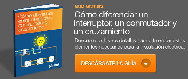 Como diferenciar un interruptor, conmutador y cruzamiento