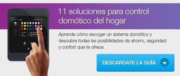 11 soluciones para control domótico del hogar