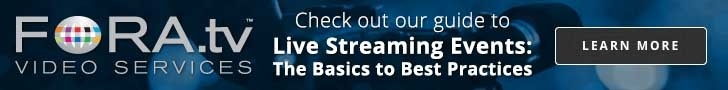 Check out our live streaming events guide