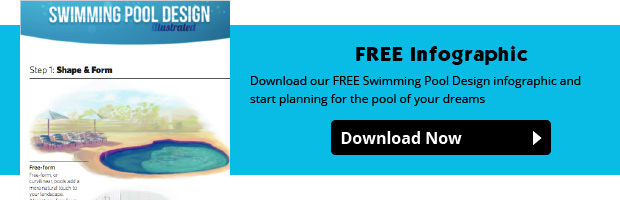 swimming pool design infographic