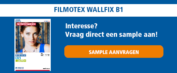 Sample aanvragen  FILMOtex WallFix B1