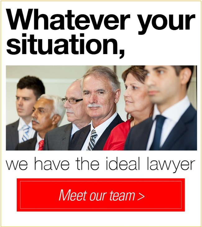 Whatever your situation, we have the ideal lawyer