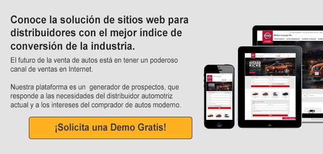 Conoce la solución de sitios web para distribuidores con el mejor índice de conversión de la industria automotriz