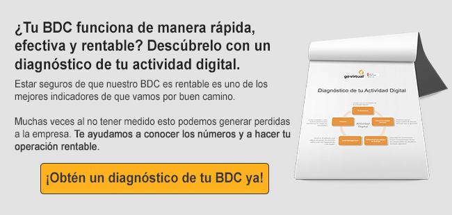 Solicita un diagnóstico de la actividad digital de tu distibuidora