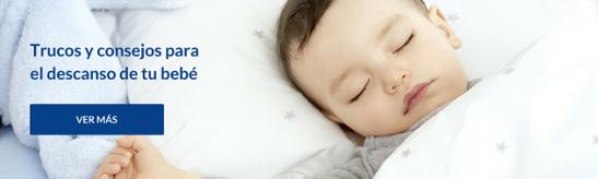 Trucos y consejos para el descanso de tu bebé