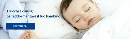 trucchi e consigli per addormentare il tuo bambino