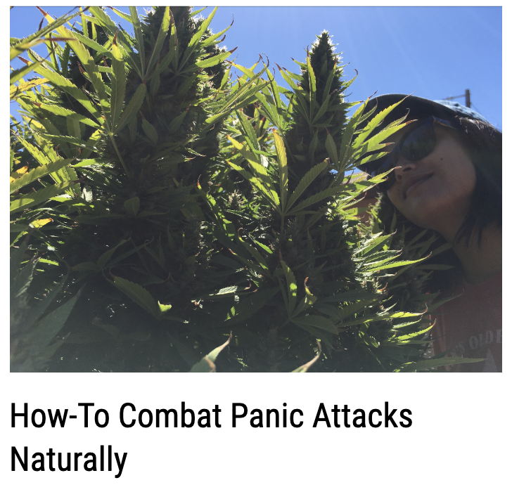 How-To Combat Panic Attacks Naturally