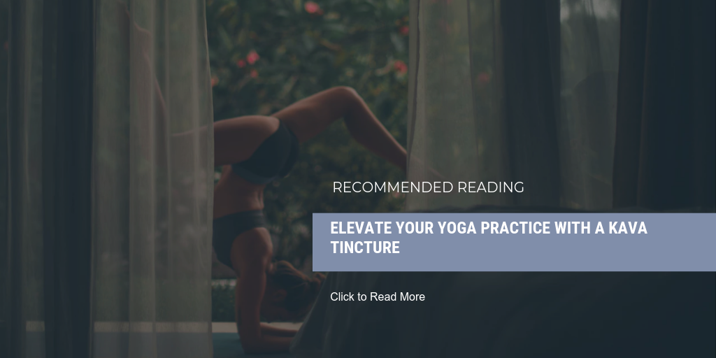 READ MORE: Elevate Your Yoga Practice with a Kava Tincture