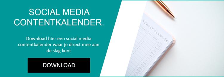 social media contentkalender downloaden
