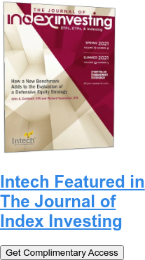 Intech Featured in The Journal of Index Investing Get Complimentary Access