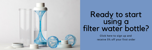 Ready to start using a filter water bottle?