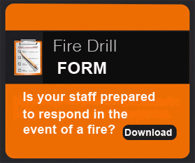 Rohen Fire Drill Form for Ontario Businesses