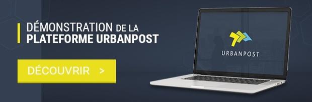 Démonstration de la plateforme UrbanPost