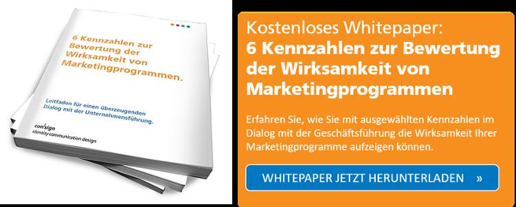 Whitepaper: 6 Kennzahlen zur Bewertung der Wirksamkeit von Marketingprogrammen