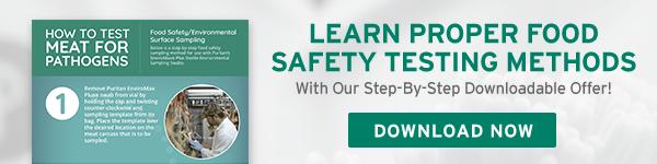 Learn Proper Food Safety Testing Methods
