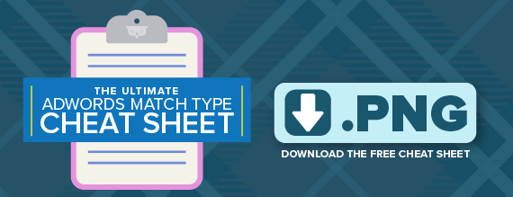 The Ultimate AdWords Match Type Cheat Sheet