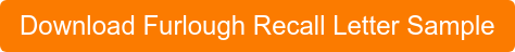 Download Furlough Recall Letter Sample